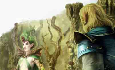 elfos en Warhammer